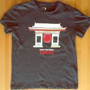 Adidas TOKYO tee shirt Climalite